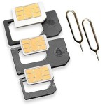 Nano Sim/Micro Sim Adapter 5er SET